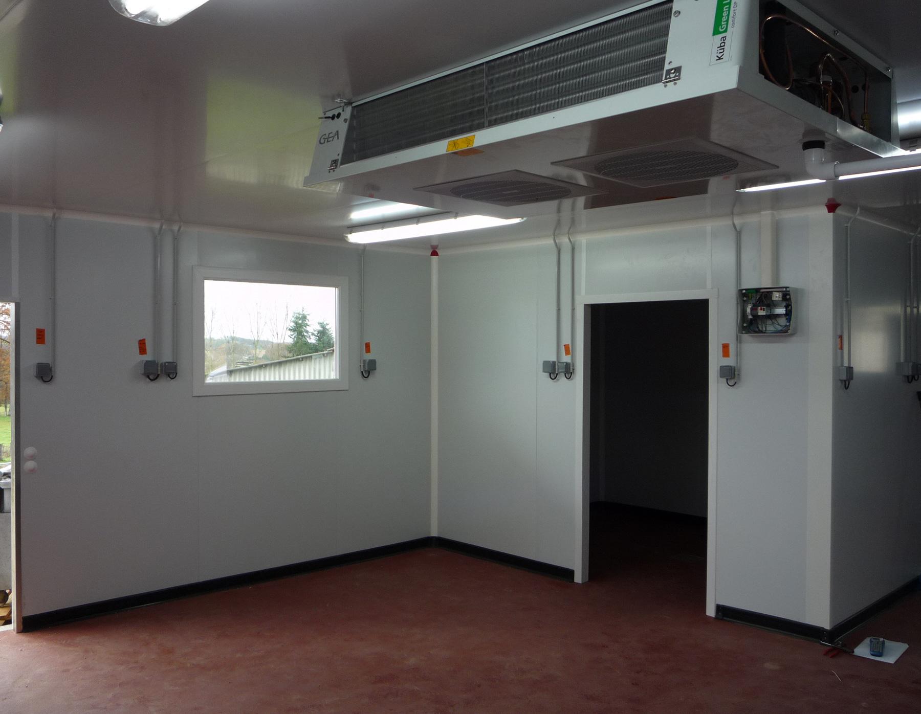 Nos r f rences en froid et climatisation en auvergne - Petite chambre froide pour particulier ...